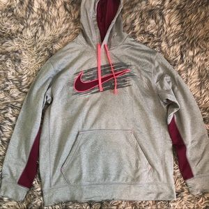 Grey Nike Therma-Fit Hoodie